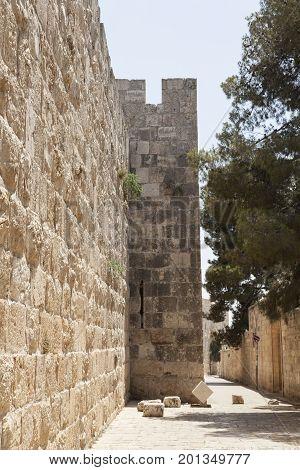 Jerusalem Stone Wall