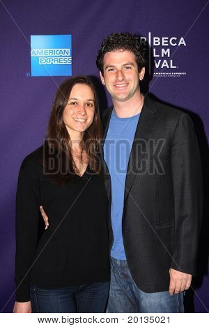 """NEW YORK - APRIL 25: Rebecca Zubaty and Jared Cohen attend the """"Letters to Juliet"""" premiere at the School of Visual Arts Theater at the 2010 TriBeCa Film Festival on April 25, 2010 in New York City."""