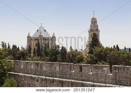 Two Church In Jerusalem