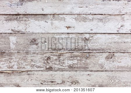 Gray Concrete Wall With Impress From Wooden Boards Texture