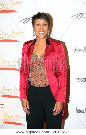 NEW YORK - MAY 3: TV host Robin Roberts attends the New York Gala benefiting the Steve Harvey Foundation at Cipriani's, Wall Street on May 3, 2010 in New York City.