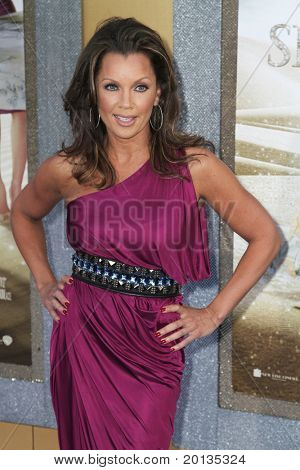 """NEW YORK - MAY 24: Actress/singer Vanessa Williams attends the """"Sex and the City 2"""" movie premiere at Radio City Music Hall on May 24, 2010 in New York City."""