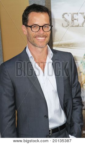 "NEW YORK - MAY 24: Actor Guy Pearce attends the ""Sex and the City 2"" movie premiere at Radio City Music Hall on May 24, 2010 in New York City."