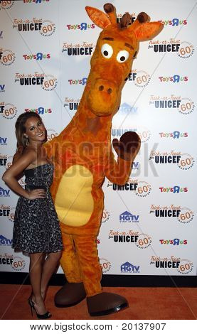 NEW YORK - OCTOBER 13: Adrienne Bailon attends the 60th Anniversary of Trick-or-Treat for UNICEF at The Xchange on October 13, 2010 in New York City.