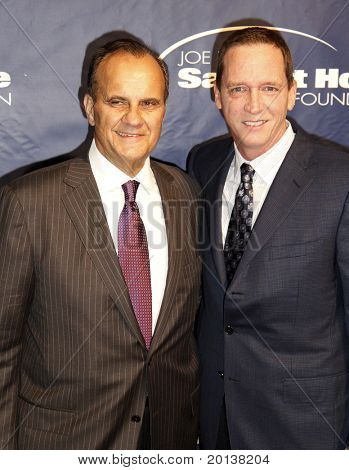 NEW YORK - NOV 11: Joe Torre and David Cone attend the 8th Annual Joe Torre Safe at Home Foundation Gala at Pier Sixty at Chelsea Piers on November 11, 2010 in New York City.