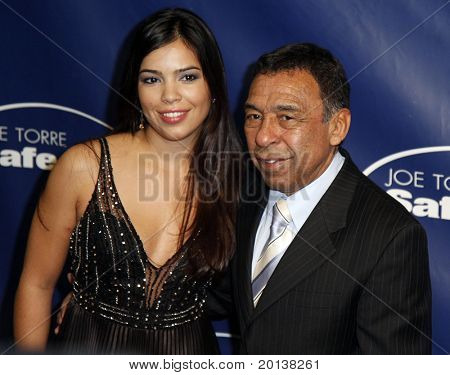NEW YORK - NOV 11: Angel Cordero attends the 8th Annual Joe Torre Safe at Home Foundation Gala at Pier Sixty at Chelsea Piers on November 11, 2010 in New York City.