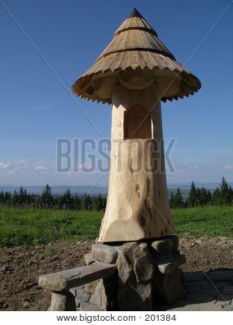 Mushroom Shaped Chapel