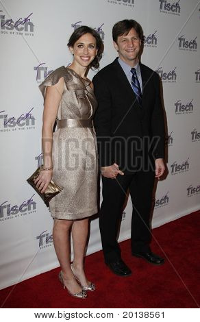 NEW YORK - DECEMBER 6: Lindsay Crystal Miller and Howie Miller attend The Face of Tisch Gala at Frederick P. Rose Hall, home of Jazz at Lincoln Center on December 6, 2010 in New York City.