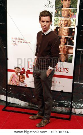 "NEW YORK - DECEMBER 15: Eddie Redmayne attends the world premiere of ""Little Fockers"" at the Ziegfeld Theatre on December 15, 2010 in New York City."