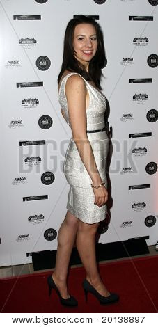 HUNTINGTON, NY - JANUARY 6: Olympic Ice skater Sarah Hughes attends the Midwinter Night's Dream fundraiser event for ALS Research at Oheka Castle on January 6, 2011 in Huntington, New York.