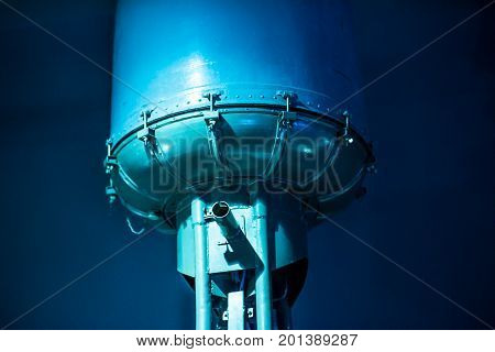 water industry treatment tanks on power plant