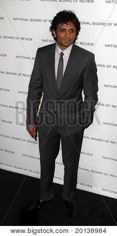 NEW YORK - JAN 11: Director M. Night Shyamalan attends the 2011 National Board of Review of Motion Pictures Gala at Cipriani's on January 11, 2011 in New York City.
