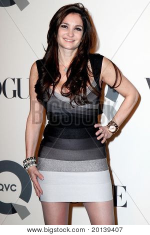 NEW YORK - FEBRUARY 11: Beth Shak attends the QVC 25 to watch party at 229 West 43rd Street on February 11, 2011 in New York City.