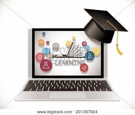 Laptop - Front - Online Shop