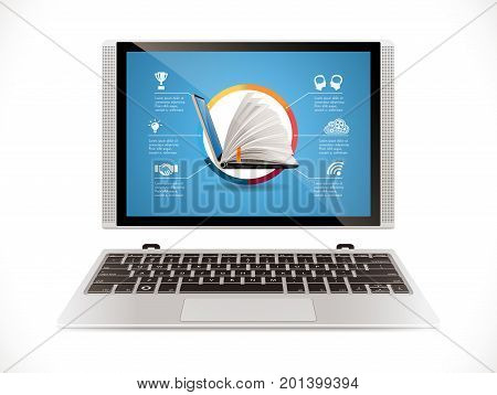 Laptop - Front - Online System