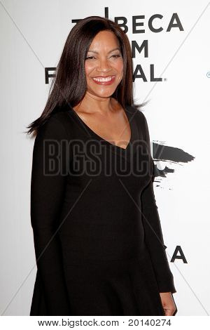 """NEW YORK - APRIL 20: Grace Hightower attends the opening night premiere of """"The Union"""" at the 2011 TriBeCa Film Festival at World Financial Center Plaza on April 20, 2011 in New York City."""