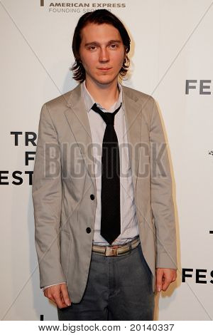 NEW YORK - APRIL 20: Paul Dano attends the opening night premiere of