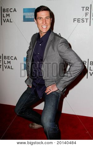 """NEW YORK - APRIL 21: Pablo Schreiber attends the 2011 TriBeCa Film Festival premiere of """"The Bang Bang Club"""" at the BMCC TriBeCa PAC on April 21, 2011 in New York City."""