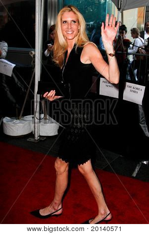 NEW YORK - APRIL 26: Ann Coulter attends the Time 100 Gala for Time's 100 Most Influential People in the World at the Time Warner Center on April 26, 2011 in New York City, NY