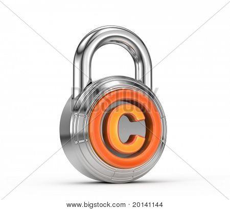 Copyright lock
