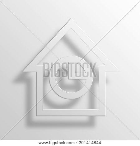 Pie Chart 3D Rendering PRendering aper Icon Symbol Business Concept