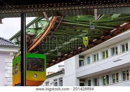 The Suspension Railway in Wuppertal is an elevated railway for public passenger transport.