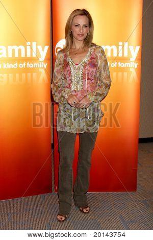 LOS ANGELES - MAY 14:  Marlee Matlin at the Disney ABC Television Group May Press Junket 2011 at ABC Building on May 14, 2011 in Burbank, CA