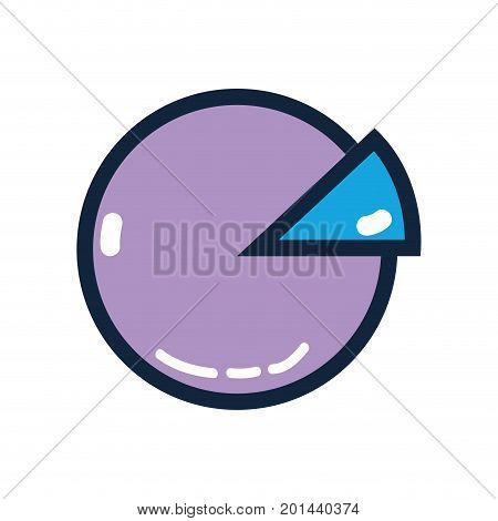 statistics diagram graphy to company inforation vector illustration poster