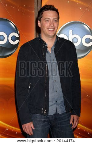 LOS ANGELES - MAY 14:  Jeff Sutphen at the Disney ABC Television Group May Press Junket 2011 at ABC Building on May 14, 2011 in Burbank, CA