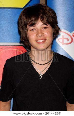 LOS ANGELES - MAY 14:  Leo Howard at the Disney ABC Television Group May Press Junket 2011 at ABC Building on May 14, 2011 in Burbank, CA