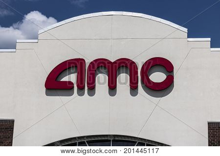Indianapolis - Circa August 2017: AMC Movie Theater Location. AMC Theaters is an American Movie Theater Chain VII