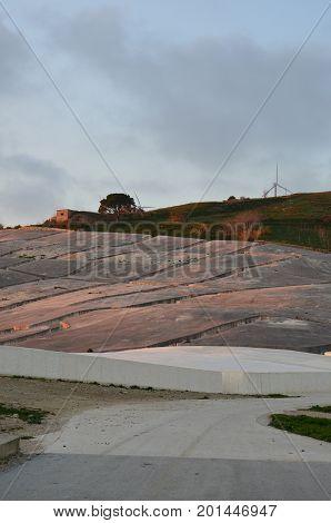 The Cretto di Burri, Belice earthquake memorial