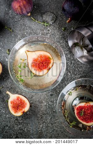 Fig And Thyme Martini