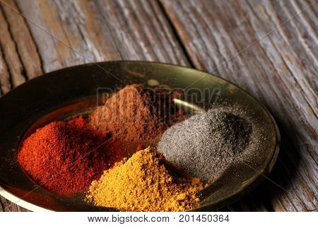 Food and cuisine ingredients. Colorful natural additives.