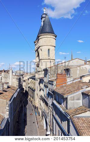 Grosse cloche in Bordeaux. Bordeaux Nouvelle-Aquitaine France.