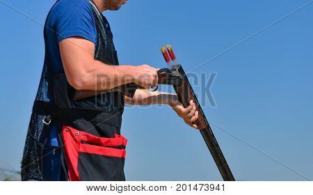 Trap and Skeet shooter & sport man