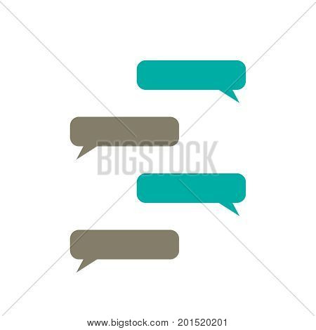 message bubbles vector  text box  chat  vector
