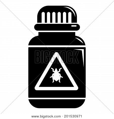 Poison insects icon. Simple illustration of poison insects vector icon for web