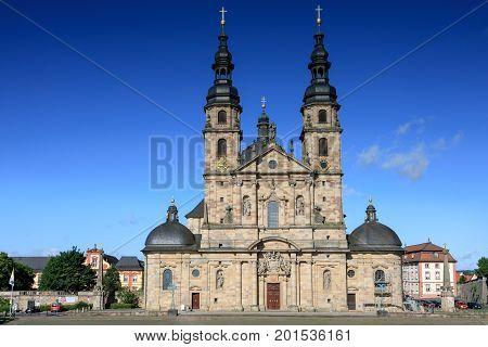 Baroque Basilica St. Salvator Fuldaer Dom Fulda Germany