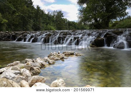 River Dobra (Croatia) / Beautiful river in Croatia