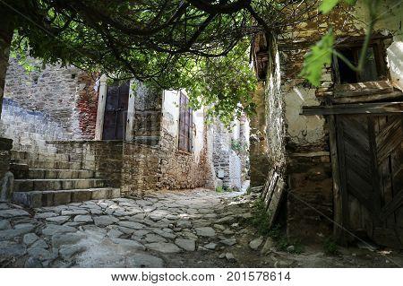 Street In Sirince Village, Izmir, Turkey