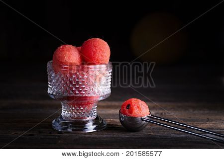 Watermelon Balls.