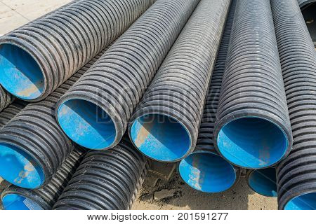 Corrugated Water Pipes Of Large Diameter
