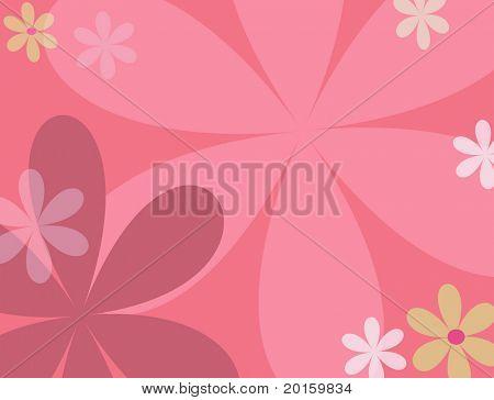 Modern Flower background
