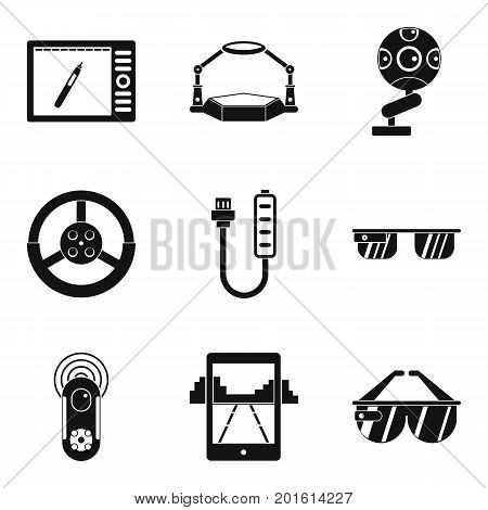 Regulation icons set. Simple set of 9 regulation vector icons for web isolated on white background