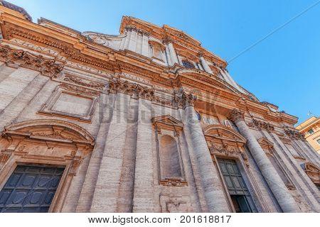 Church Of St. Ignatius Of Loyola At Campus Martius (italian: Chiesa Di Sant'ignazio Di Loyola In Cam