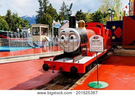 James At Thomas Land Theme Park