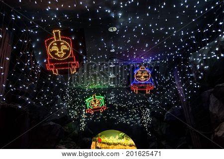 James, Thomas, Percy Light Decoration