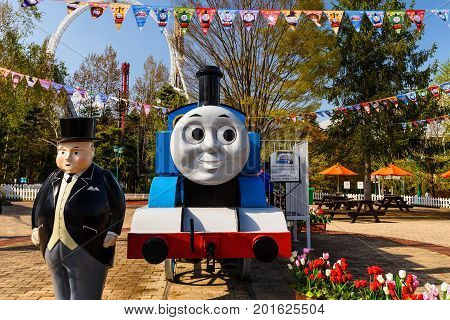 Stream Engine And Fat Controller At Thomas Land