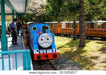 Thomas Train Parking At Station